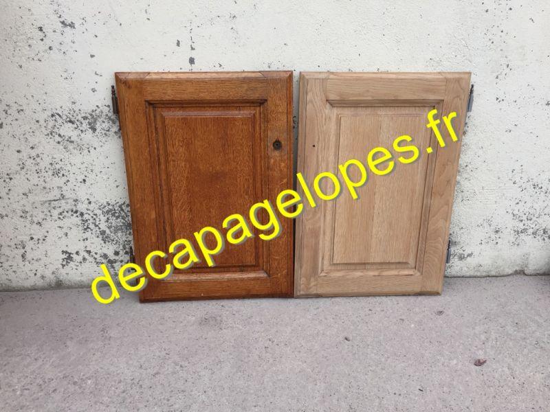 d capage par a rogommage de portes de placard portes de cuisine rustique paris entreprise. Black Bedroom Furniture Sets. Home Design Ideas