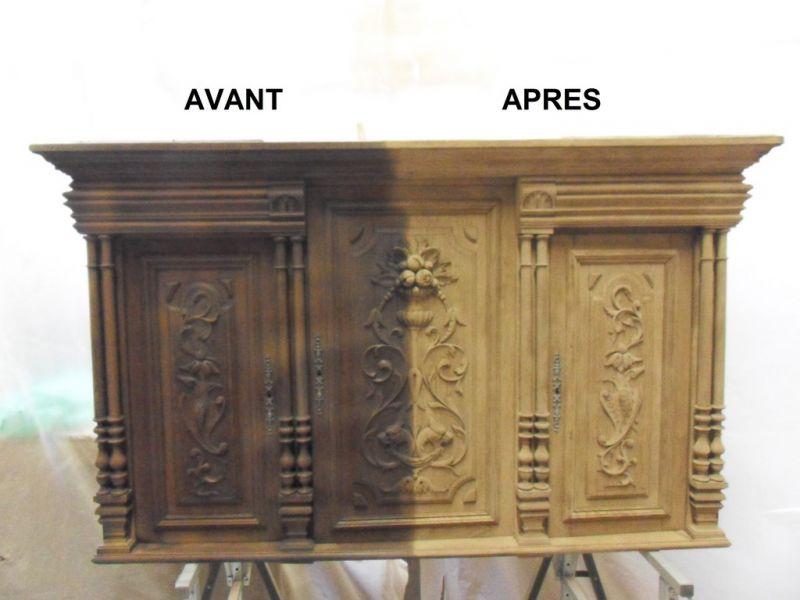 d capage meuble deux portes avec tiroirs rustiques. Black Bedroom Furniture Sets. Home Design Ideas
