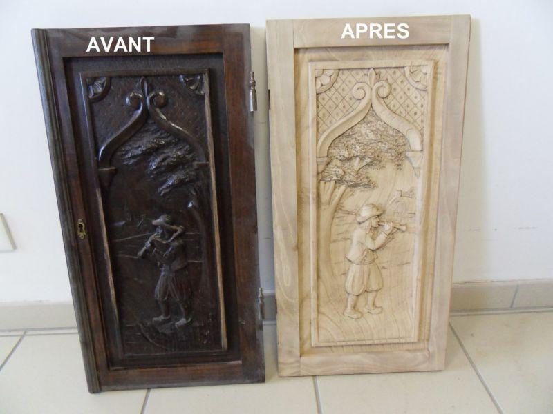 D capage portes de meuble breton nettoyage vapeur for Moderniser des vieux meubles