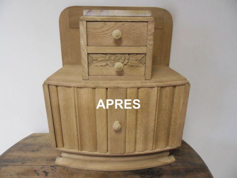D capage meuble de toilette nettoyage vapeur d capage for Decapage de meuble
