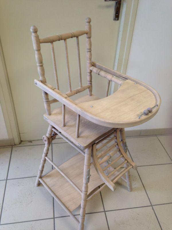 Chaise b b d cap e par a rogommage nettoyage vapeur for Chaise qui se balance