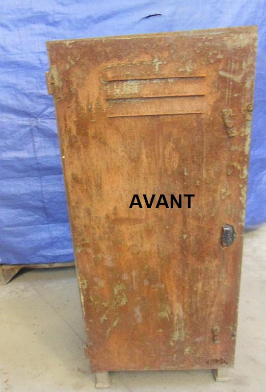 D capage petit meuble industriel nettoyage vapeur d capage carrosserie et - Petit meuble industriel ...