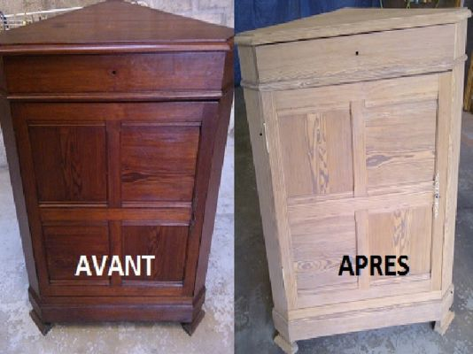 relooking de meubles bas en bois rouen d capage lopes. Black Bedroom Furniture Sets. Home Design Ideas